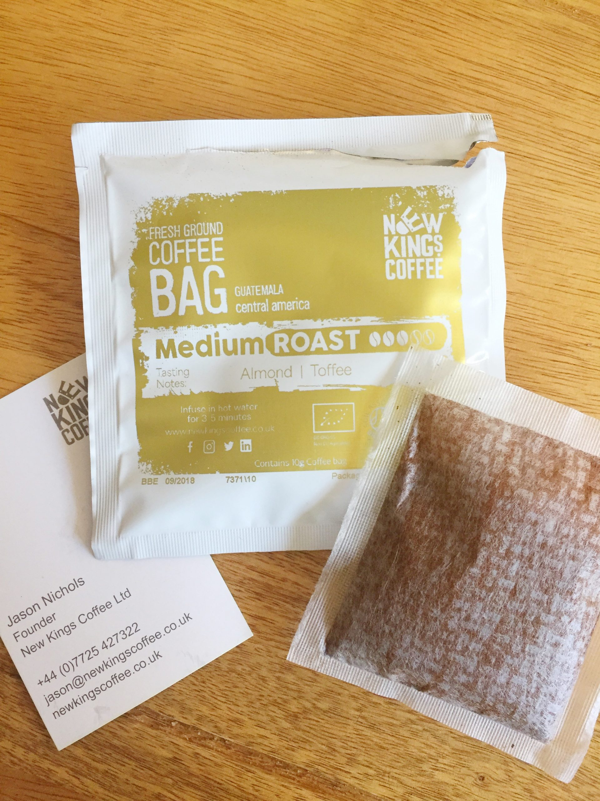 New Kings Coffee – Coffee Bag Revolution