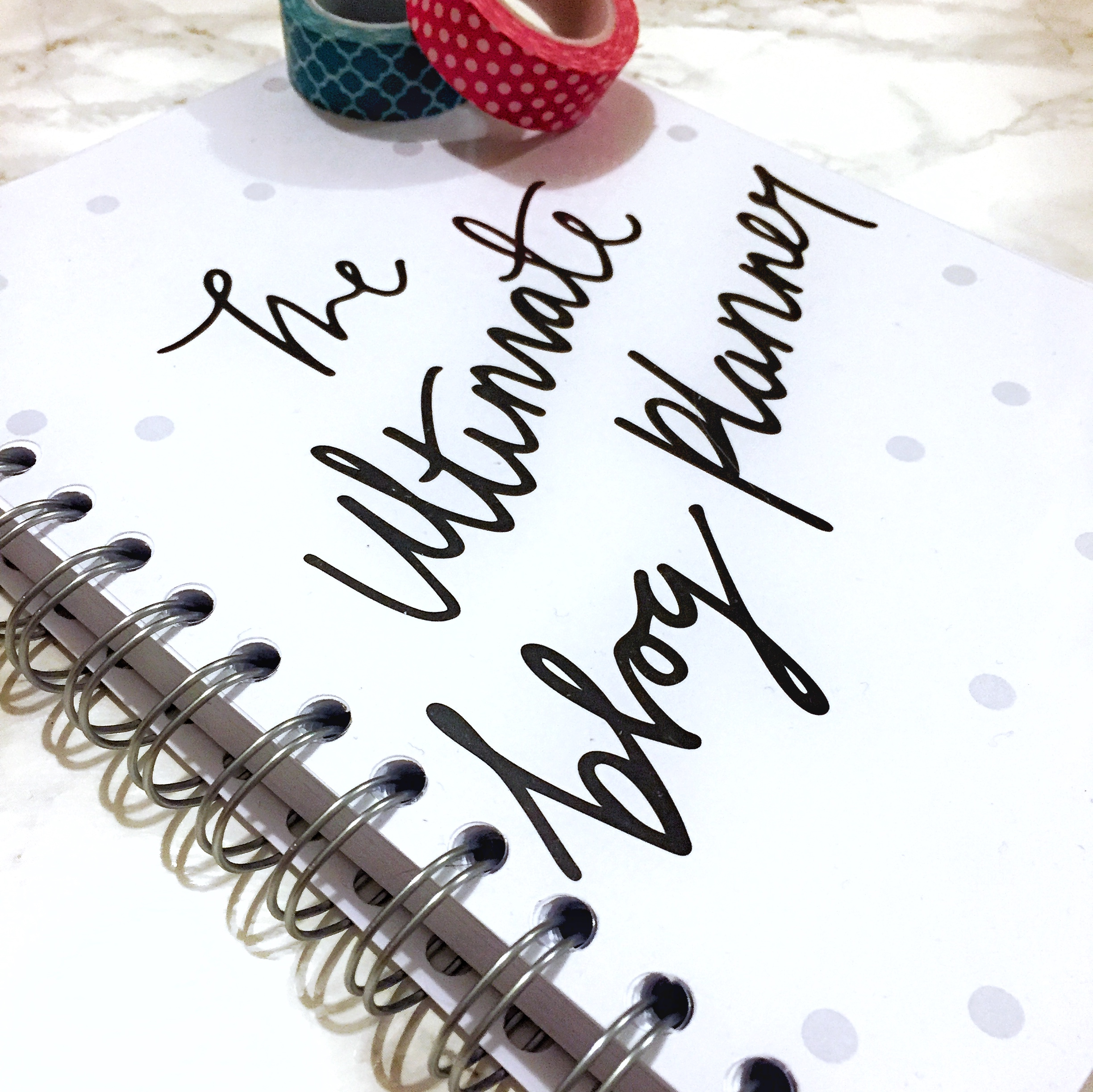 Dot Creates – The Ultimate Blog Planner