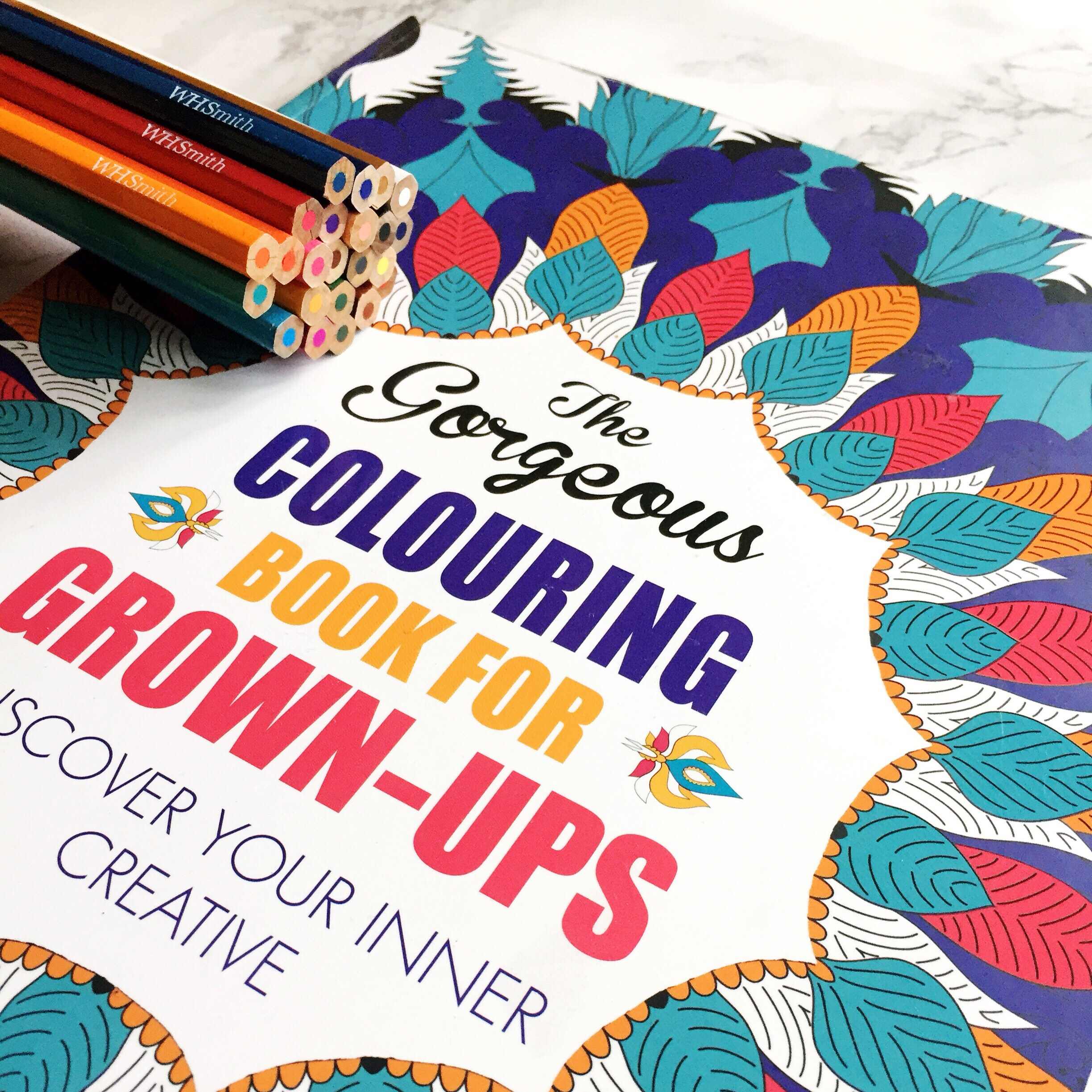 Stress Buster – Adult Colouring Book