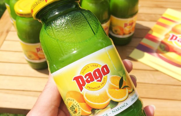 The Perfect Summer's Day with Pago Fruit Juices