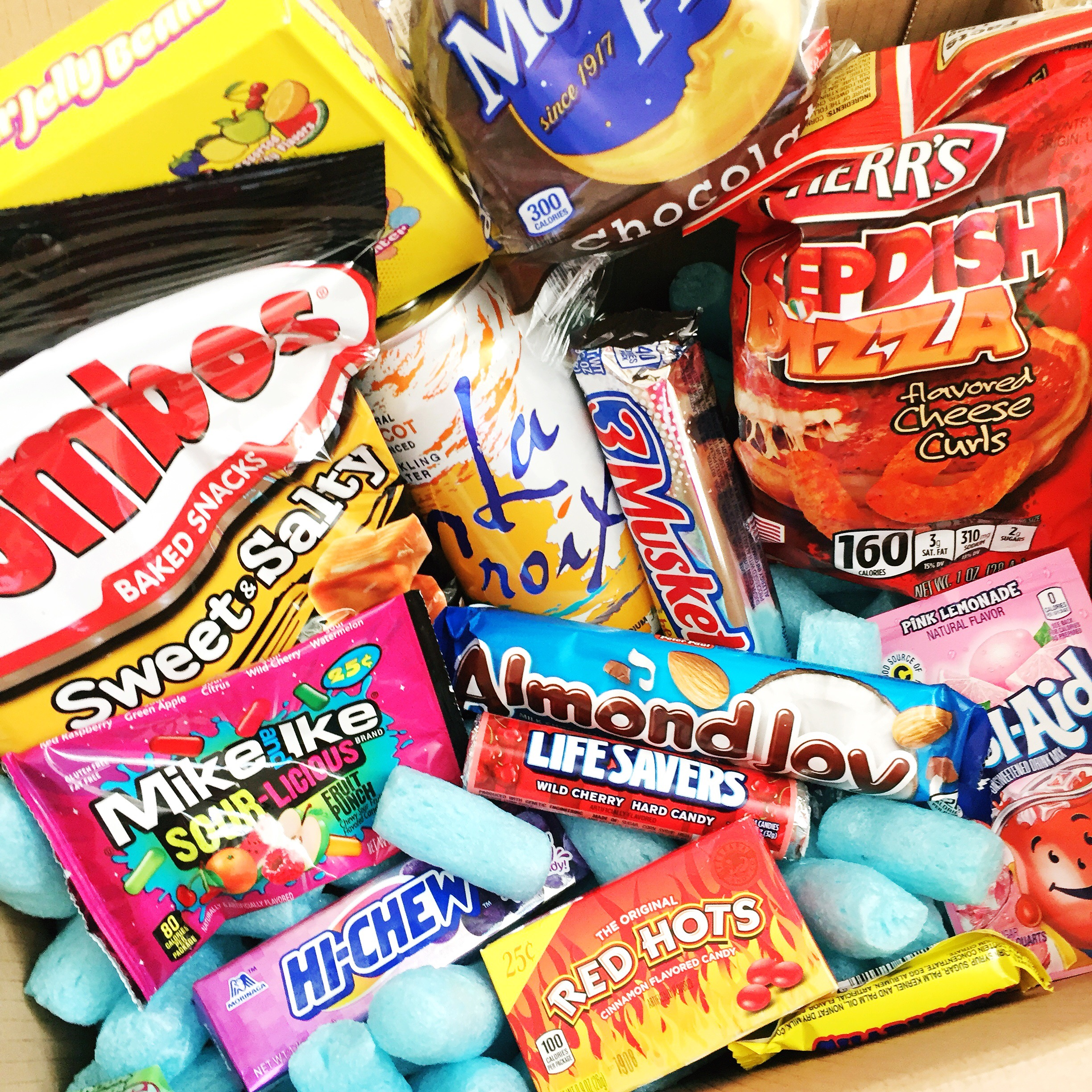 American Goodies Straight to your Door with Taffy Mail