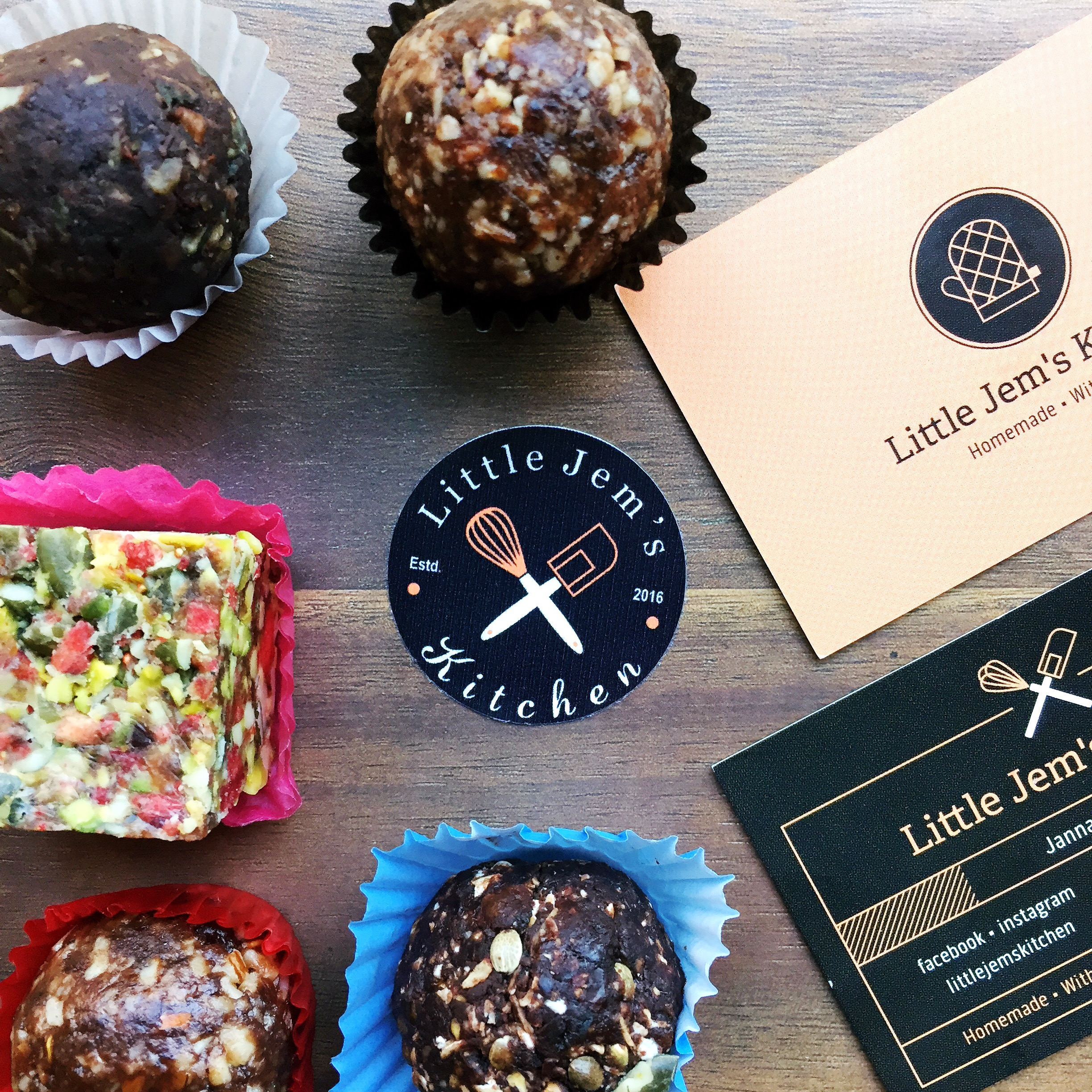 Energy Ball Taste Test with Little Jem's Kitchen