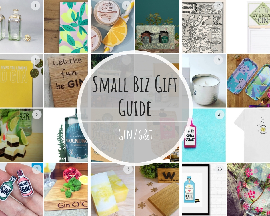 Small Biz Gin Gift Guide