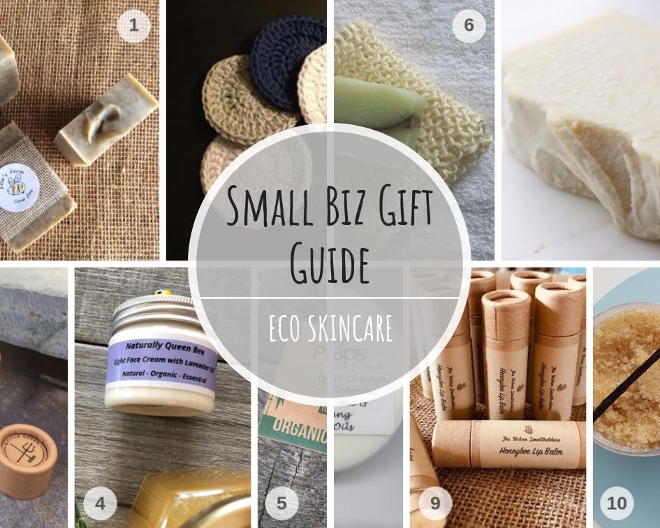 Small Biz Eco Skincare Gift Guide