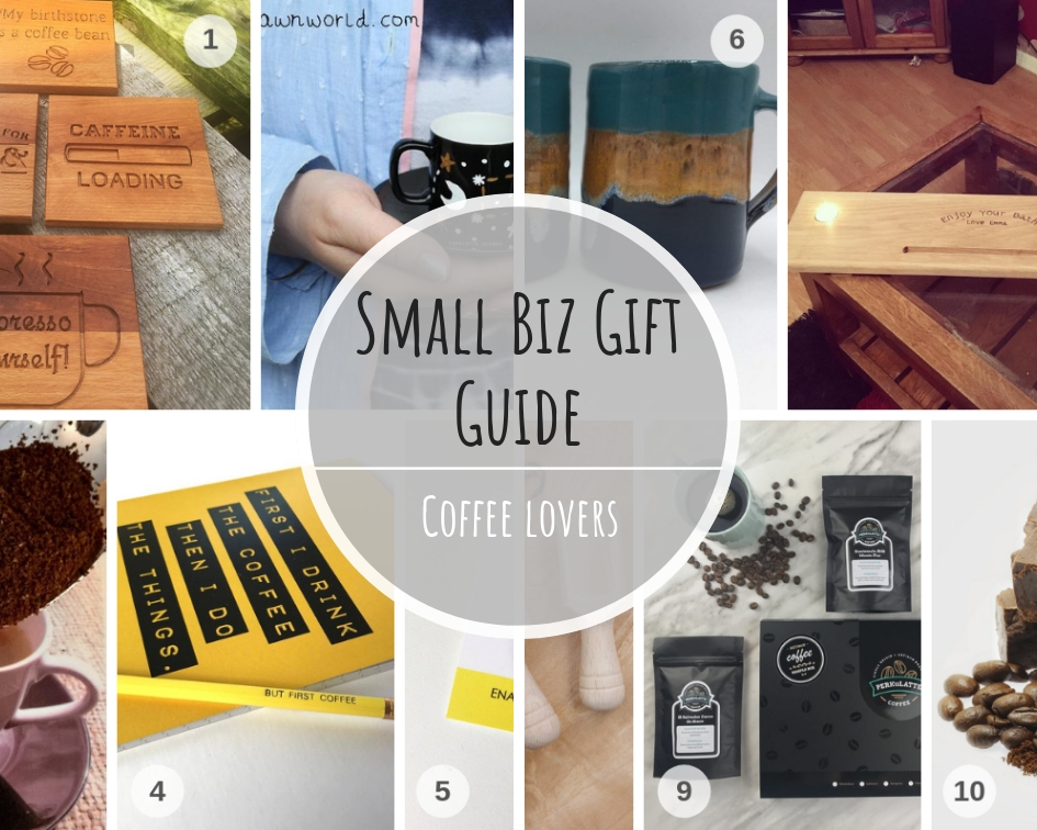 Small Biz Coffee Lovers Gift Guide