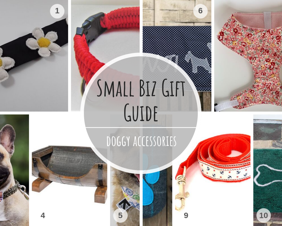 Doggy Accessories Gift Guide