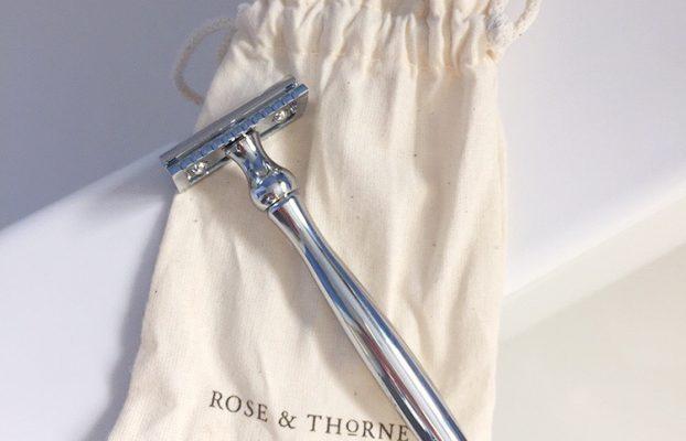 Sustainably Shaving with the Rose & Thorne Razor