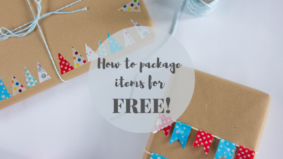 How to package items for FREE!