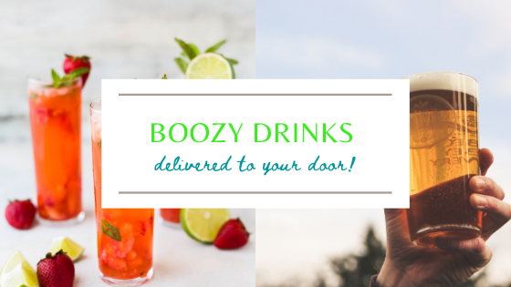 Boozy Drinks Delivered Straight to your Door