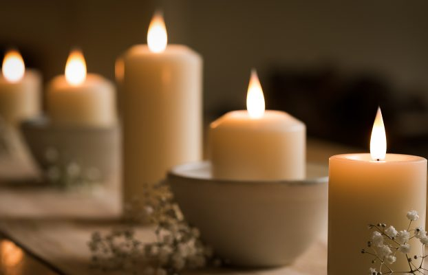 Light up your life with luxury flameless candles